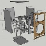 Abb.1: Entwurf Lautsprecher