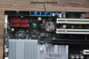 Mainboard-Batterie