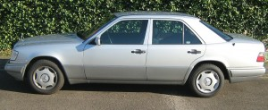 Mein W124 im Profil